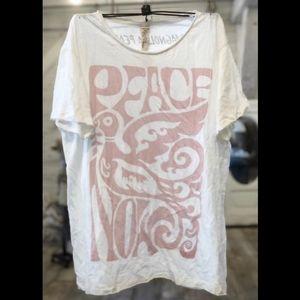 New magnolia pearl peace now tee true uni t-shirt